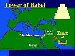 Babil tower map