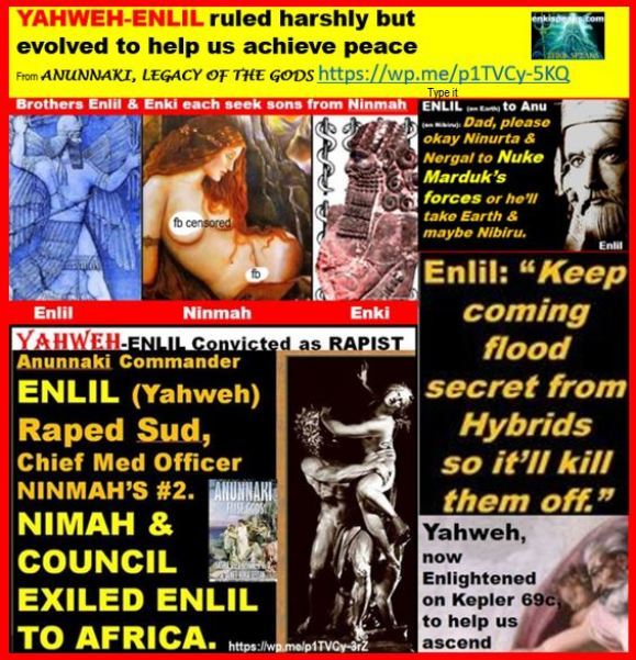 Enki Speaks: Anunnaki, ETs, Contactees, Cosmic & Earth