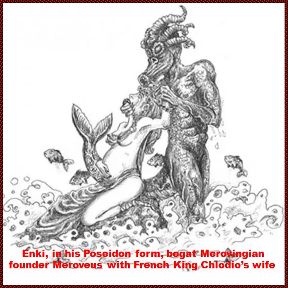 This image has an empty alt attribute; its file name is Enki-begat-Merovingian-King-with-French-Kings-wife.jpg