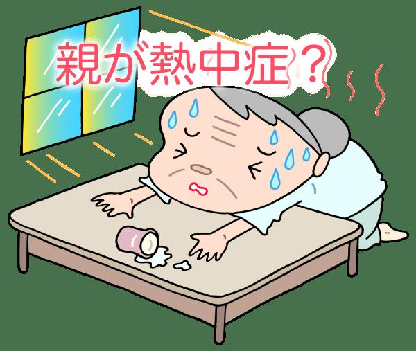 高齢者の熱中症はなぜ多い?重症化しやすい原因と対策について