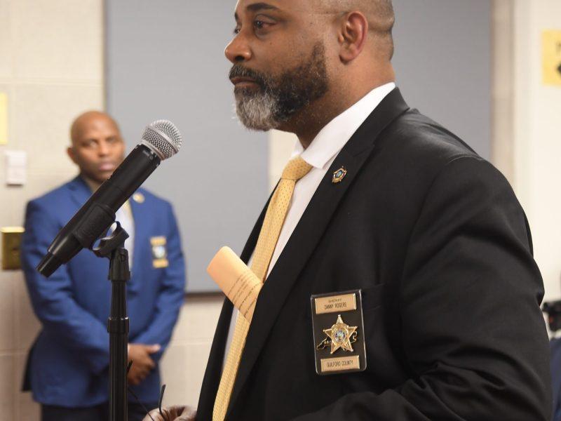 alguacil del condado de Guilford