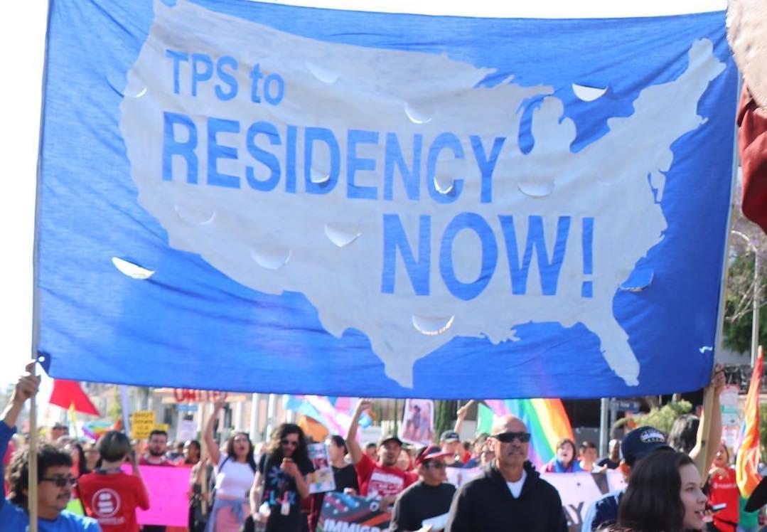 TPS para salvadoreños