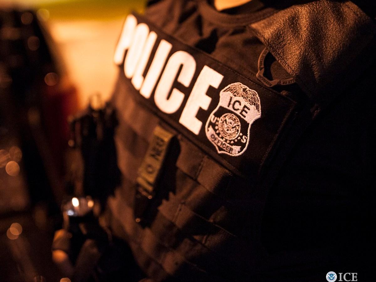 ICE arrestos migratorios y covid