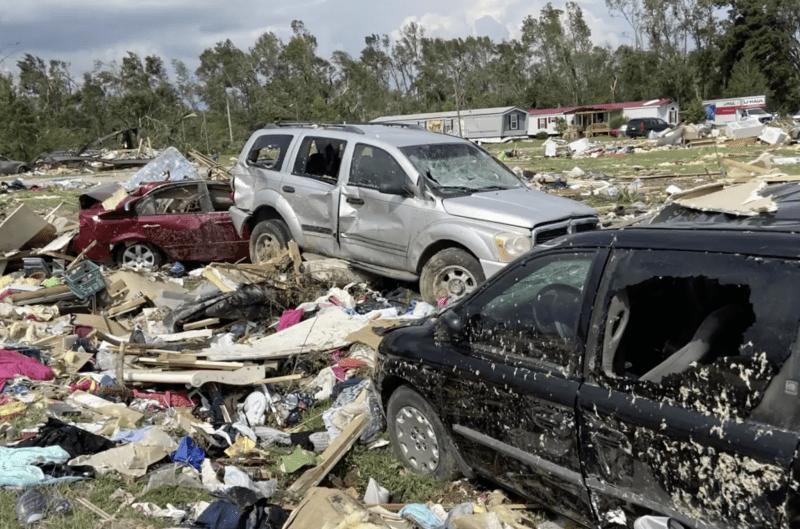Huracán Isaías en Carolina del Norte