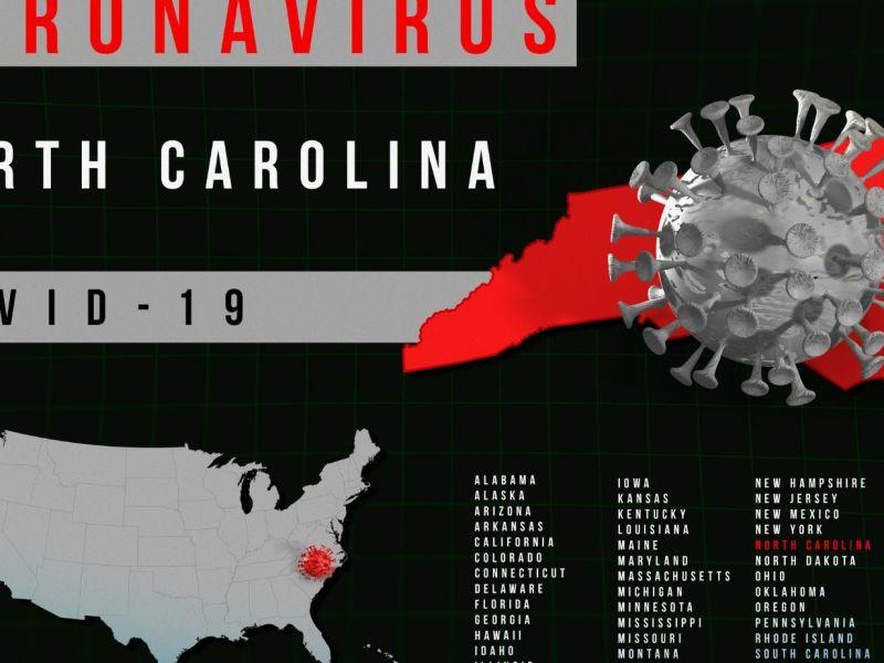 Carolina del Norte contagios por Covid-19