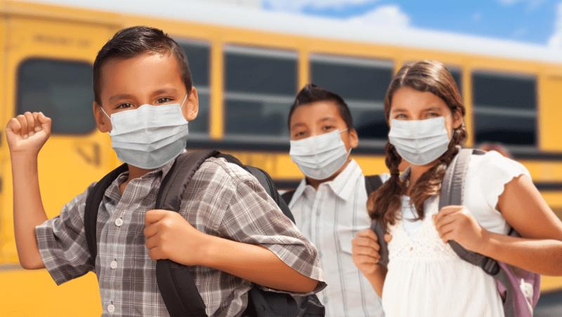 uso de mascarillas en escuelas