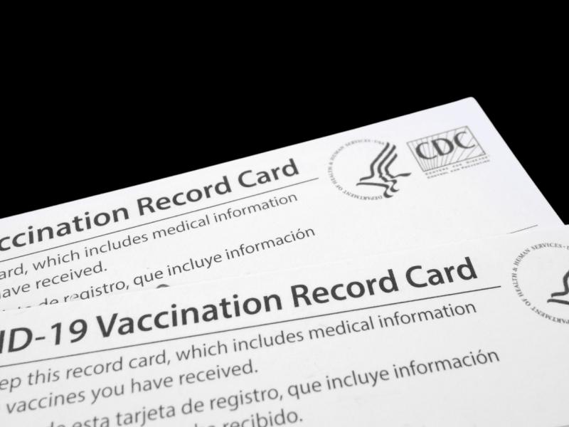 Tarjetas de vacunación Covid-19