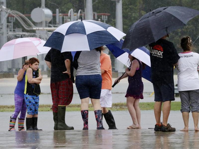 Tormenta Tropical Fred en Carolina del Norte