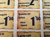 """""""Nice sauce"""", es decir, ¿que en inglés la salsa es buena pero no lleva pescado?"""