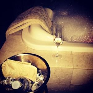 Bath Bubbles and Bubbly