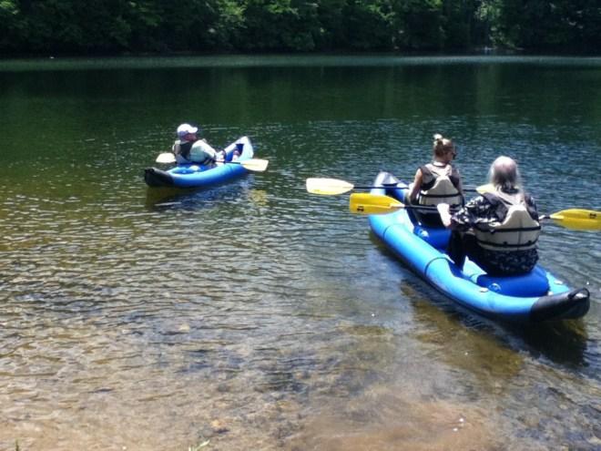 We enjoyed birding and paddling