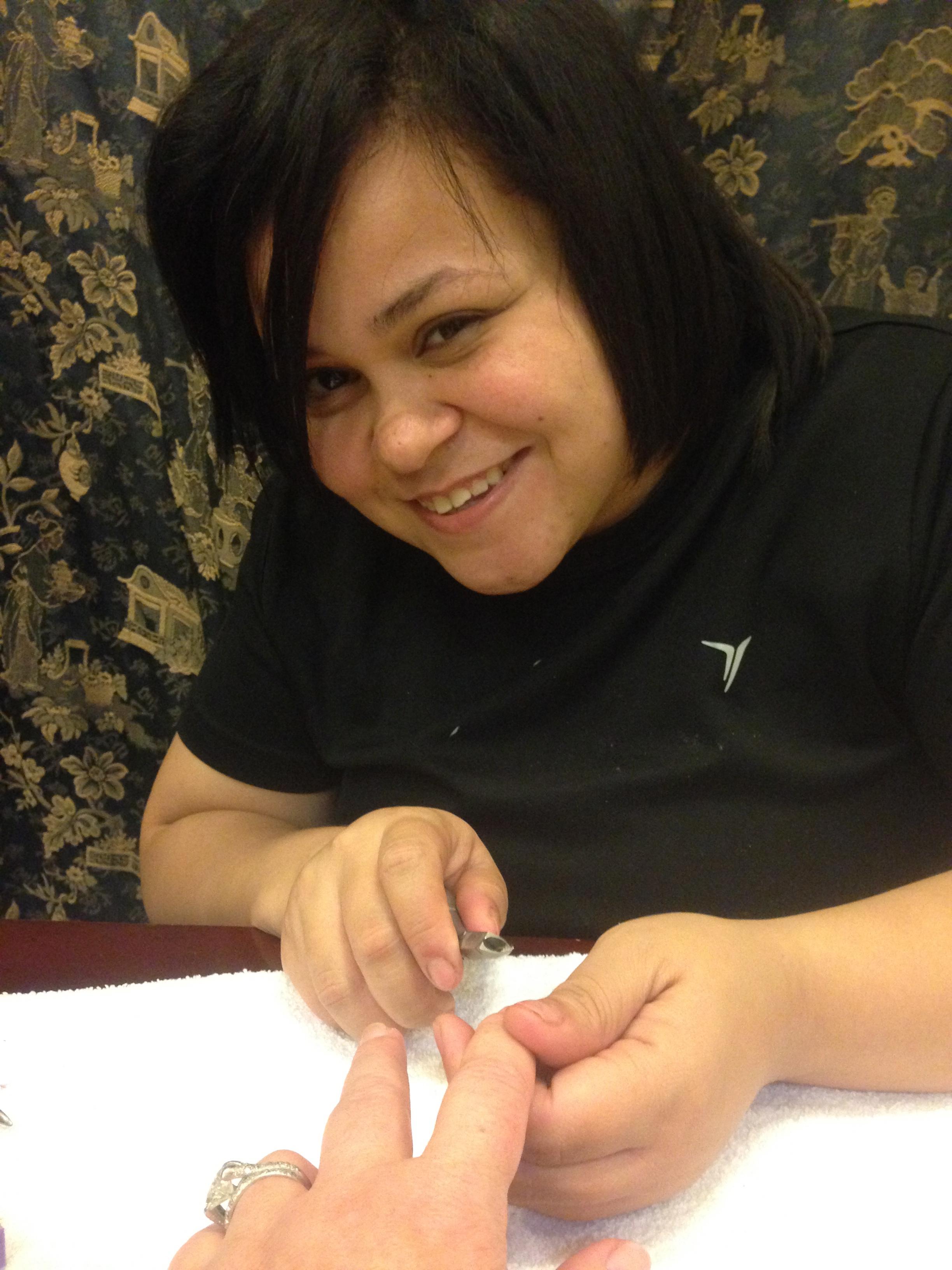 Heidi, my nail technician