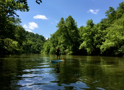 Expert instruction leads to easy enjoyment of SUP