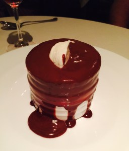 Fearrington Inn's signature dessert.