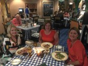 Dinner at The Forum, an Italian resturant within the Greenbrier.