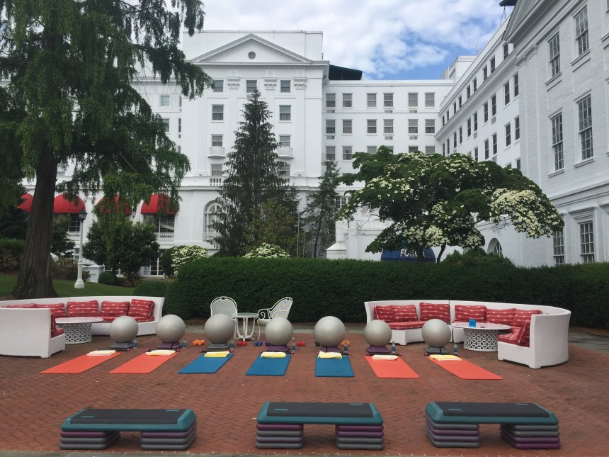 Personal Training at the Greenbrier Spa