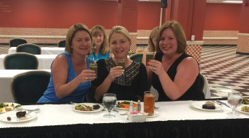 Greenbrier Green smoothie shots at our cooking class in the bunker.