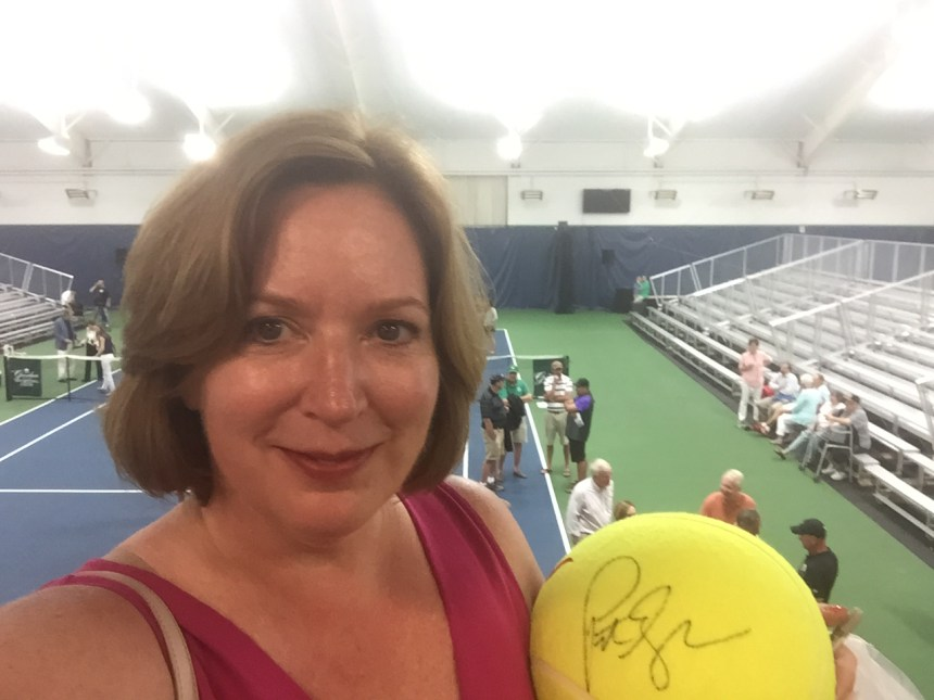 Tennis Match at The Greenbrier