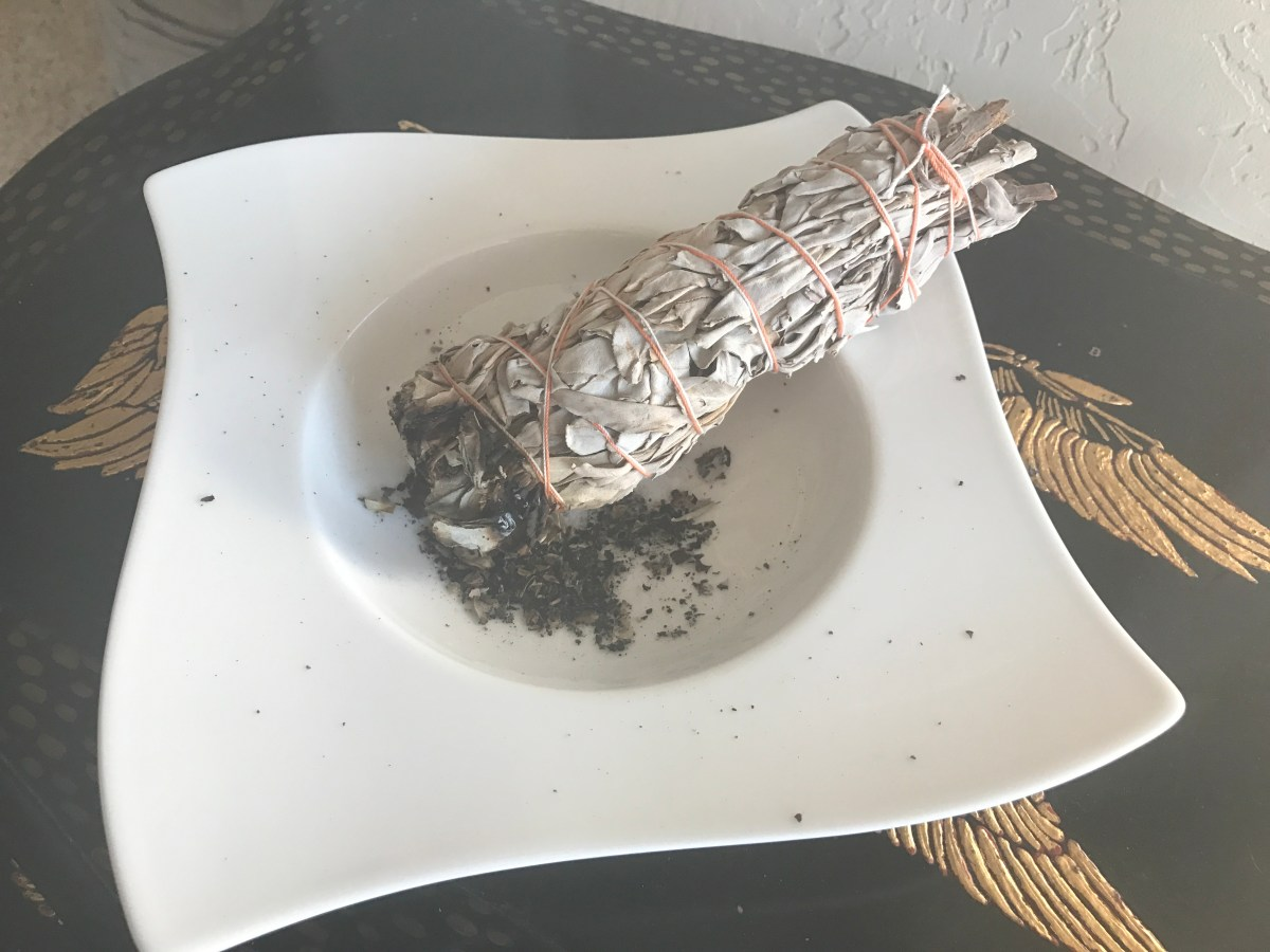 Burnt Offering; a sage-smudged massage treatment