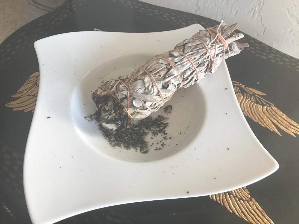 Burnt Offering; a sage-smudged massage treatment