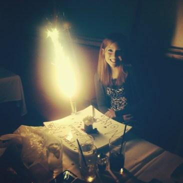Mina's 18th Birthday.