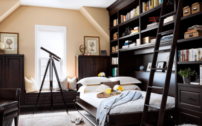 How to Save Space with Murphy Beds