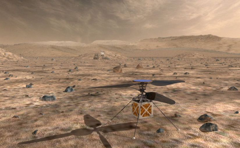 2020 Mars Helicopter Could Open Alien Skies to Exploration | Space