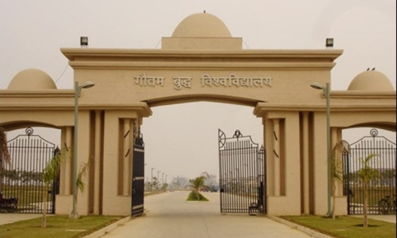 Gautam Buddha University gets decked to welcome Chancellor Yogi Adityanath
