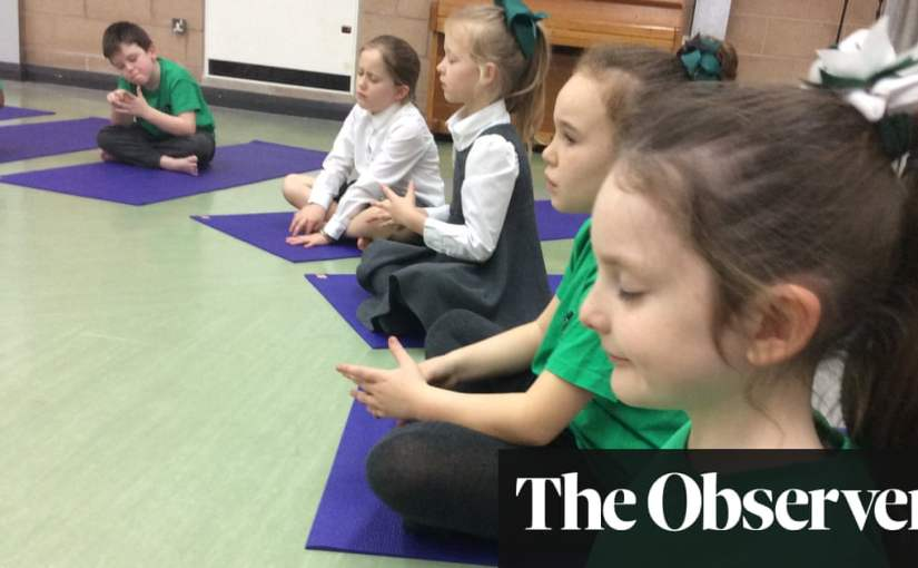 'It stops the scary stuff': pupils thrive with mindfulness lessons | Life and style | The Guardian