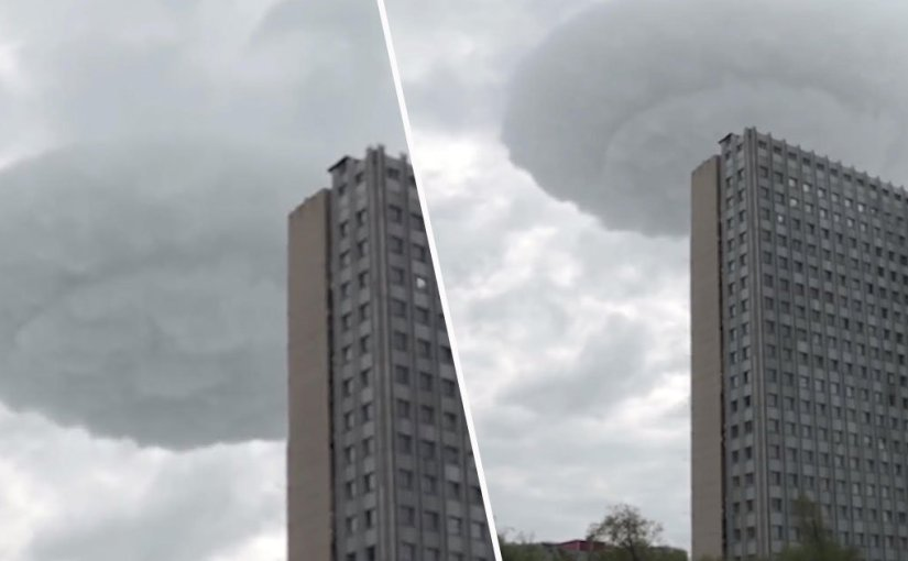Bizarre 'UFO Cloud' Seen In The Skies Above Moscow