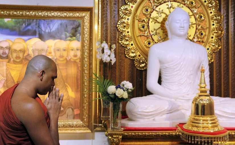 Exclusive: Inside the tiny Buddhist temple that serves half a million Dubai worshippers – The National