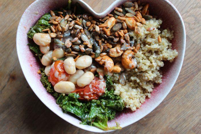 Gluten Free Tahini Balsamic Buddha Bowl