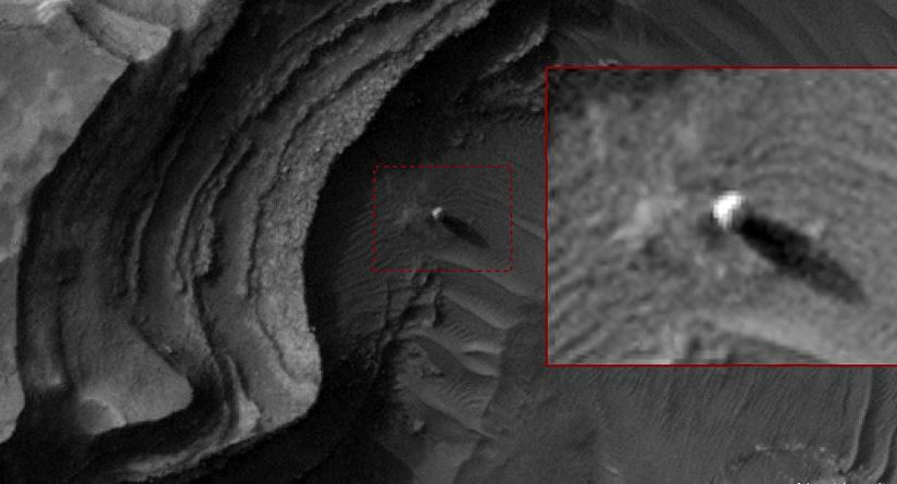 Ancient Aliens on Mars? Massive 'bright sphere' spotted by NASA satellite on Mars | Ancient Code