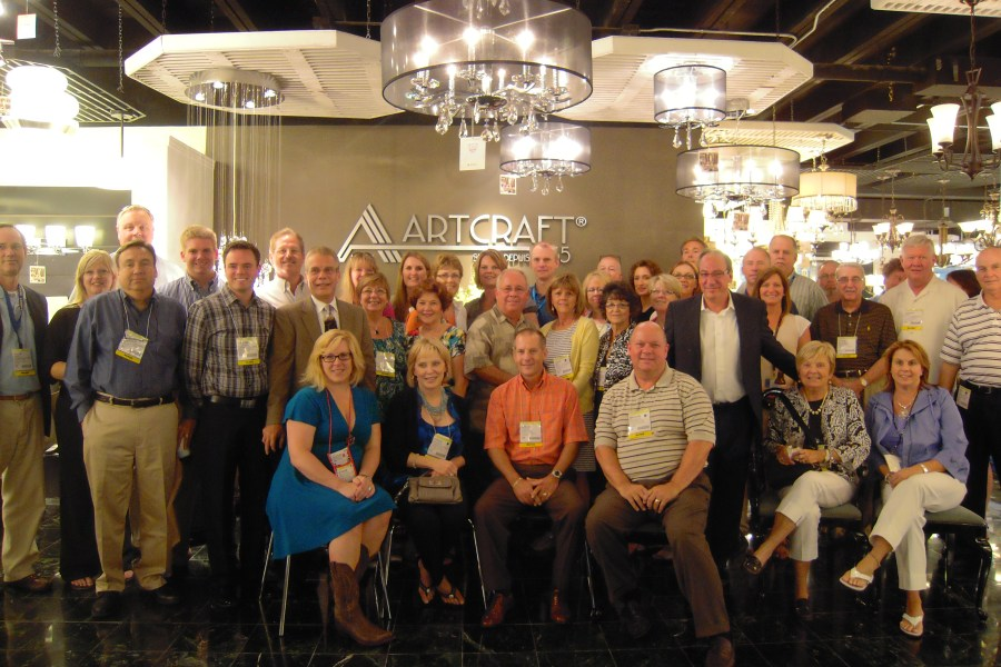 Artcraft & Lighting One Celebrate Great Retail News