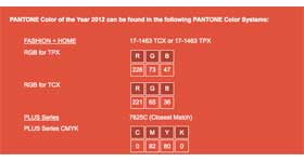 Las Vegas Design Center/Pantone Announce Color of the Year