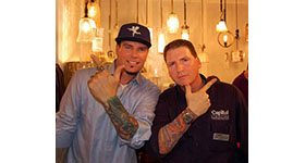 Capitol Lighting Launches Vanilla Ice Lighting at New Store Opening