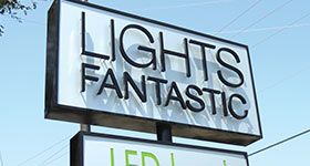 Lights Fantastic: LED Spoken Here