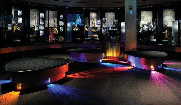 Seattle's EMP Museum: 1500 Toshiba LED Lighting Fixtures