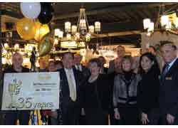 Dale Tiffany Celebrates 35th Anniversary