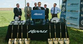 Kenall Manufacturing Breaks Ground on New Facility
