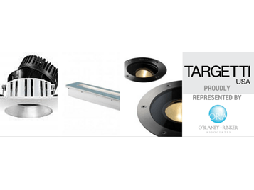 TARGETTI USA Appoints O'Blaney Rinker Associates for NYC Territory