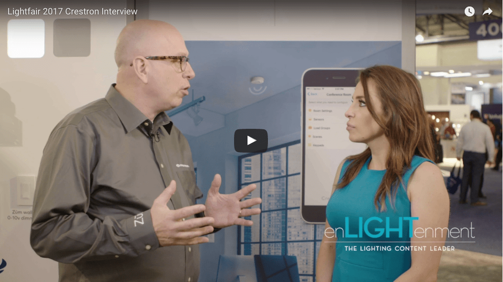 Lightfair 2017 Crestron Interview