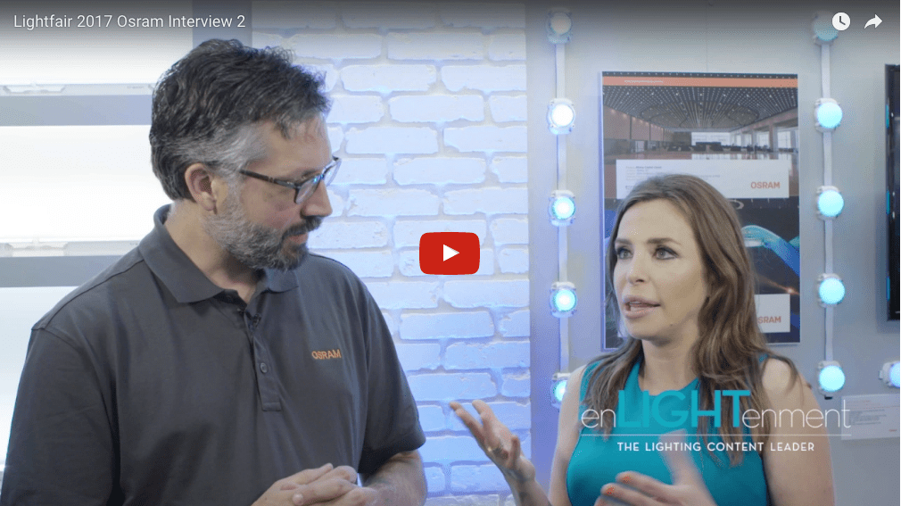 Lightfair 2017 Osram – Traxon Technologies Interview