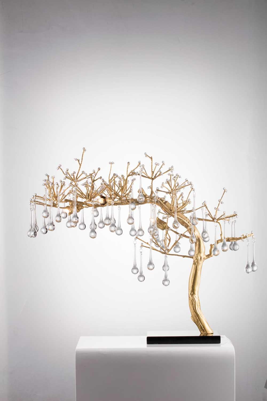 Bethel International Bonsai Tree Table Lamp