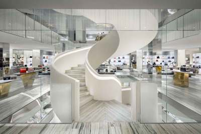 Barneys 1st Floor Staircase