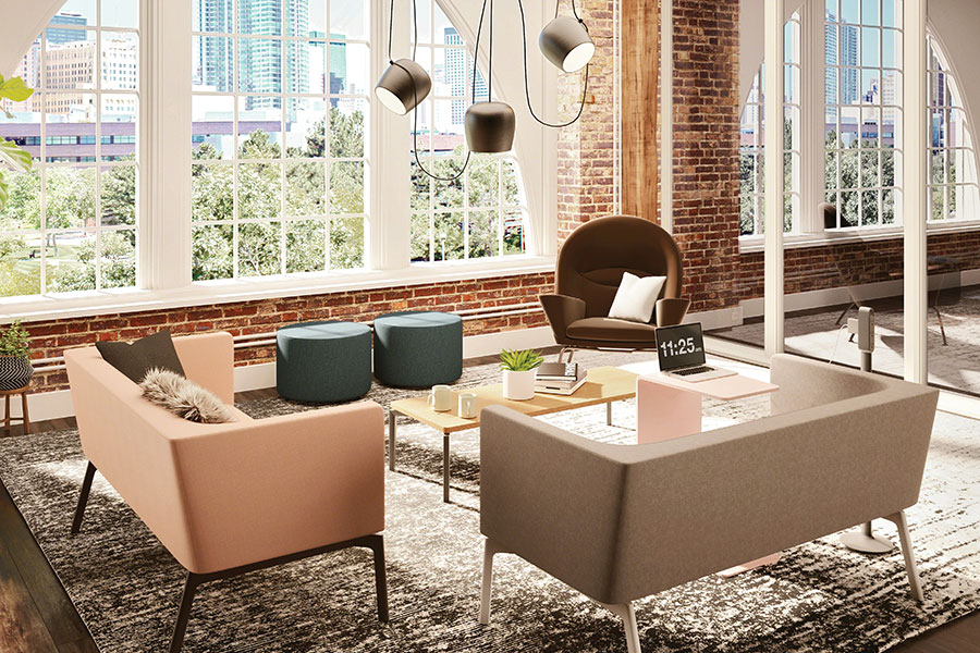 Steelcase Partners with Flos