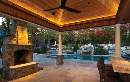 Outdoor application courtesy of SK & Associates - Robin Doerler, Lighting Designer
