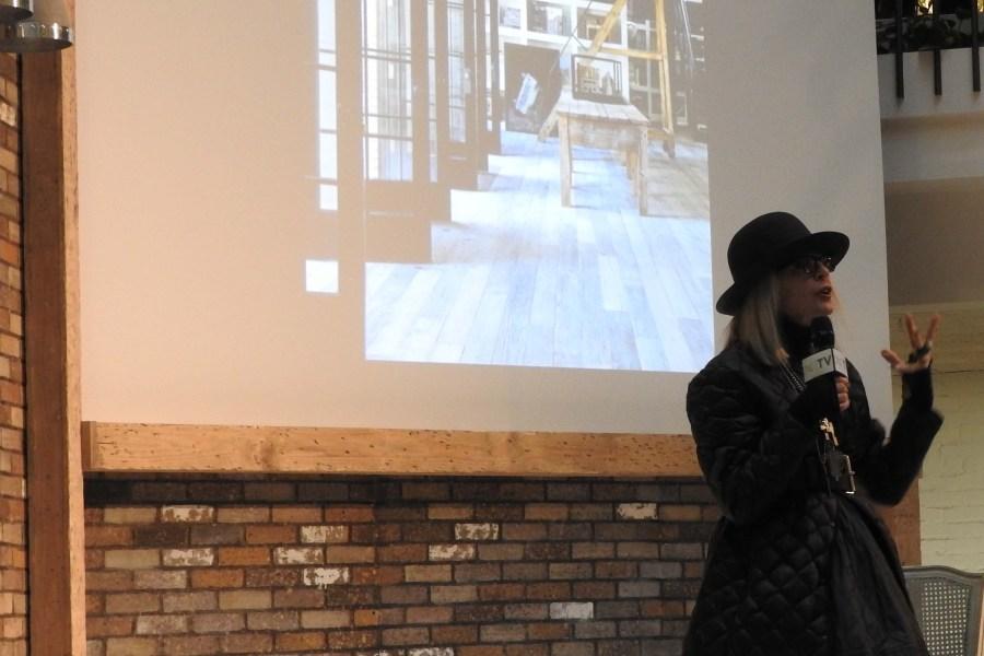 Diane Keaton Shares Home Inspiration at Dallas Market Center