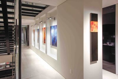Art of Living Residence gallery wall