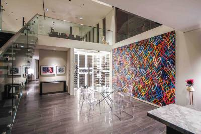 Art of Living Residence wall